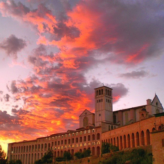 Assisi, Italy home of St. Francis and St. Clare